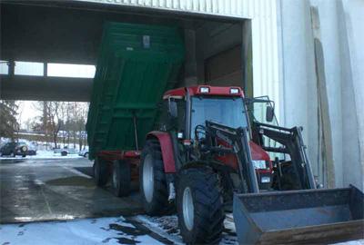 Getreidehändler in Nordbayern mit schlagkräftiger Annahme
